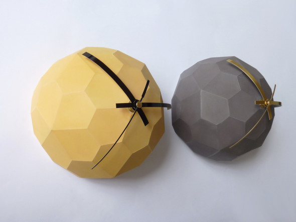 Globe_Clock_Mustard_and_Grey
