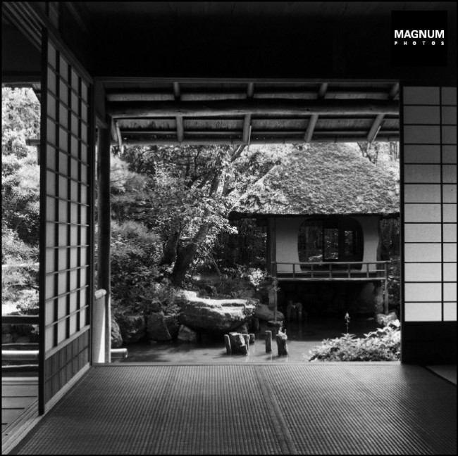 JAPAN. Town of Kyoto. Tea house. 1951.