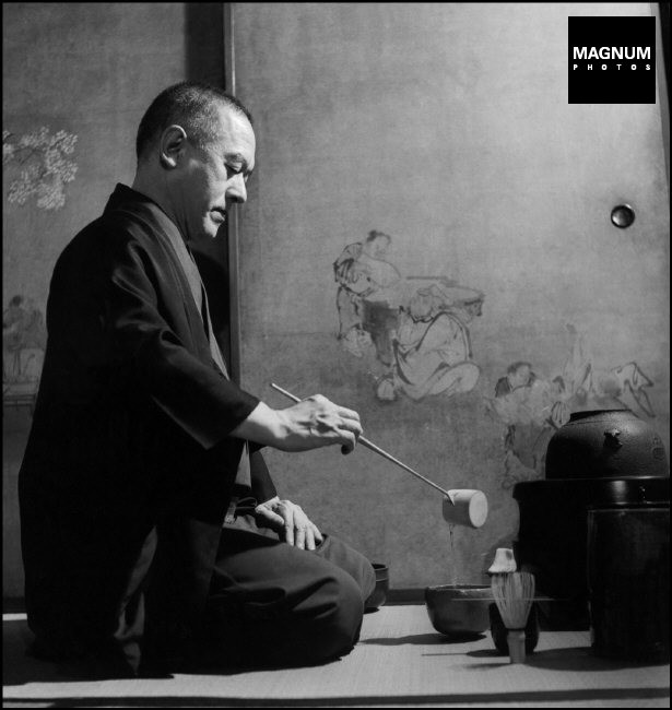 JAPAN. Kyoto. The ritual of tea. 1951.