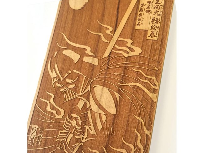 STAR WARS スペシャルアイテム iPhone6 WOODEN CASE