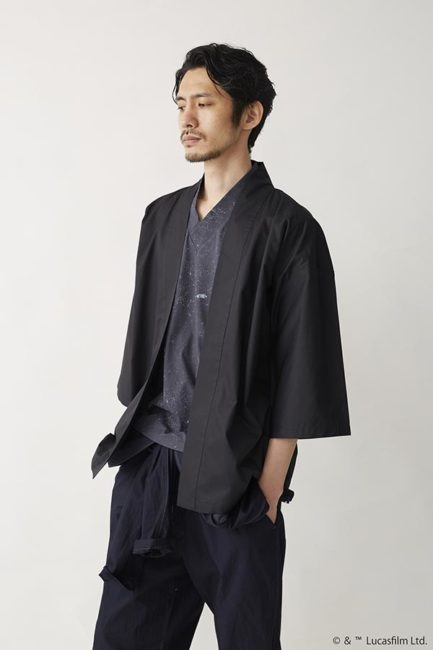 "和ROBE / STAR WARS HANTEN ""A New Hope"" / BLACK"
