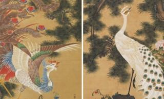 2ヶ月限定!83年ぶりに発見、伊藤若冲の幻の作品「孔雀鳳凰図」が再公開へ!