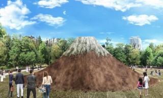 テクノロジー演出も!東京ミッドタウン10周年記念で、あの芝生広場に富士山が出現するぞ!