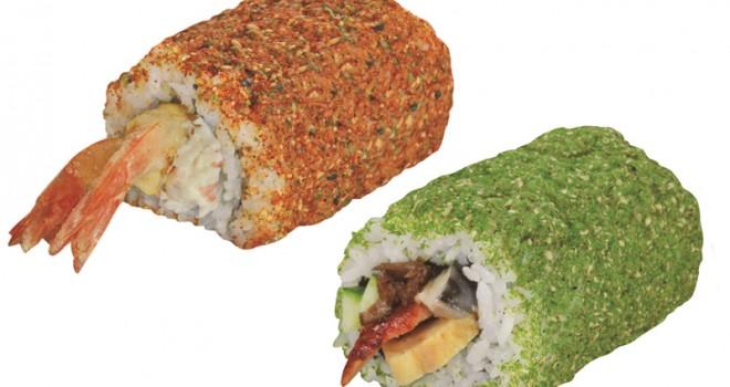 インパクト大のいわし巻も!くら寿司の恵方巻に新作「赤鬼巻」「青鬼巻」登場