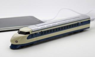 長いぞwww 懐かしの初代新幹線・0系がなんとモバイルバッテリーになった!