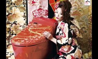 セレブ感がハンパない!漆仕上げに蒔絵の装飾、日本の伝統をまとったプレミアムなトイレ誕生