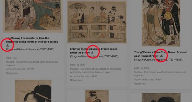 これは捗る!メトロポリタン美術館の無料ダウンロード作品を手軽に保存するChrome機能拡張