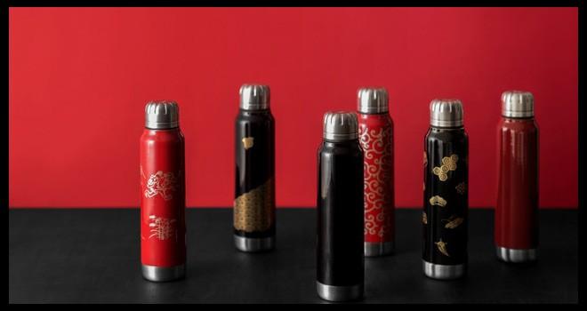 味わい深い質感!伝統美・越前漆器の美しさ光る携帯型水筒「URUSHI UMBRELLA BOTTLE」