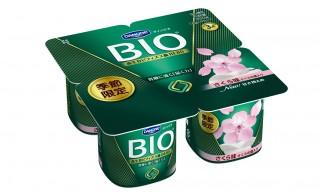 桜味のヨーグルト!?ダノンが「さくらの葉入りの桜もち」の風味が楽しめるヨーグルトを発売