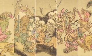 もう完全に漫画!河鍋暁斎がユーモアたっぷりに妖怪を描いた「暁斎百鬼画談」の躍動感
