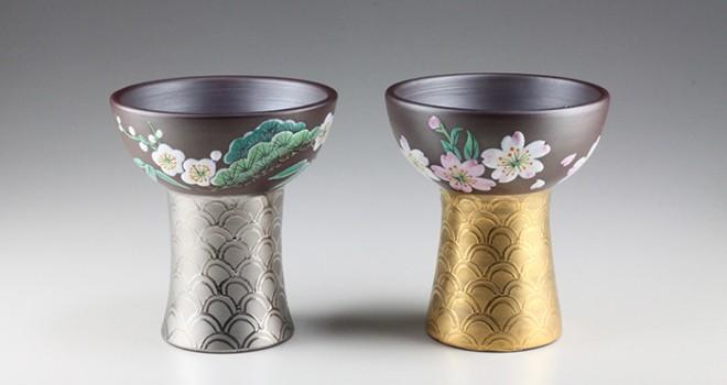 何ですかこの美しき酒杯は!伊勢志摩サミットで使われた萬古焼の酒杯が限定復刻!