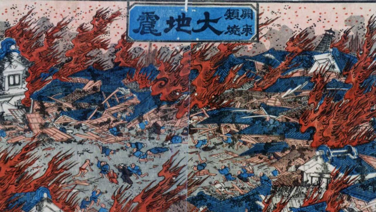 地震が発生した日は860日以上!江戸時代から地震に悩まされる日本…