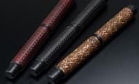 味わい深く手に馴染む…伝統工芸「竹編み」を施したプレミアム万年筆3種が誕生
