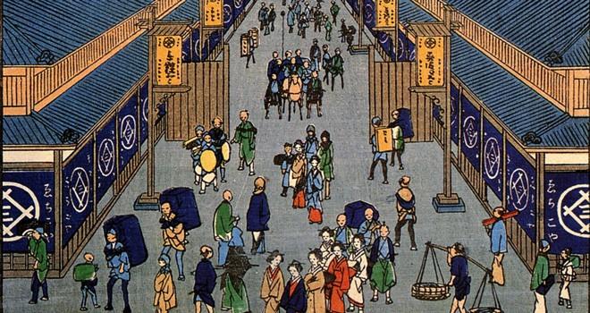 江戸で大繁盛した大規模呉服店・越後屋。斬新と言われたその販売方法とは?