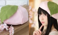 何これ可愛えぇ〜♪ ヴィレヴァンからまんま桜餅のベレー帽「和菓子ぼうし 桜餅」発売