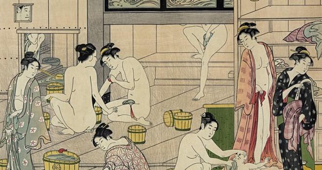 江戸時代の銭湯は混浴の時代も…それでも江戸の女子が銭湯に通う理由