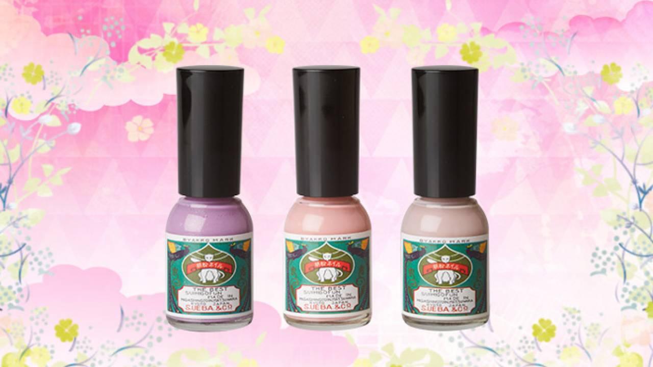 甘すぎない繊細カラー♪ 和色が美しい胡粉ネイルに春夏限定色が登場