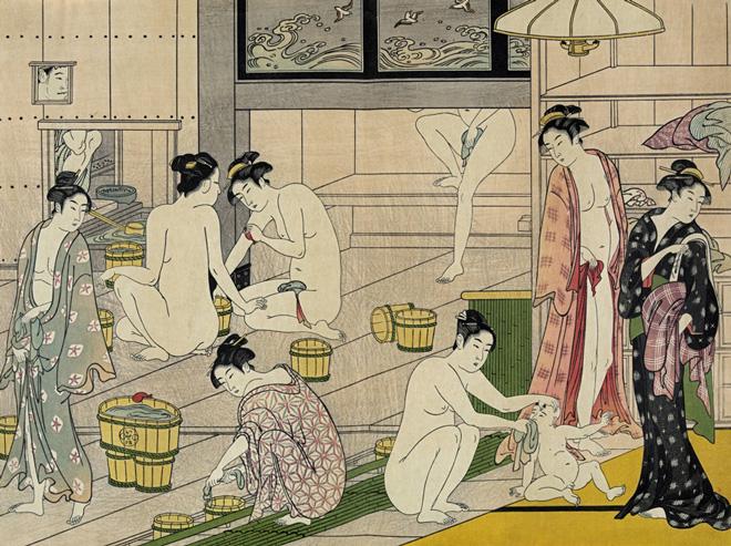 江戸時代の混浴