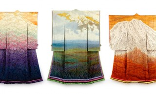 無料展示です!息を呑むほどに美しき伝説の着物「一竹辻が花」が特別公開