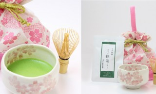 お花見で気軽に野点!祇園辻利から可愛らしい「春のおためし抹茶セット」発売