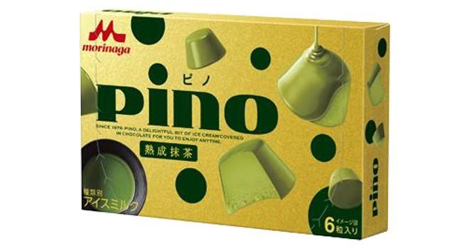 低温貯蔵で熟成!ピノから抹茶アイスを抹茶チョコでコーティング「ピノ 熟成抹茶」誕生
