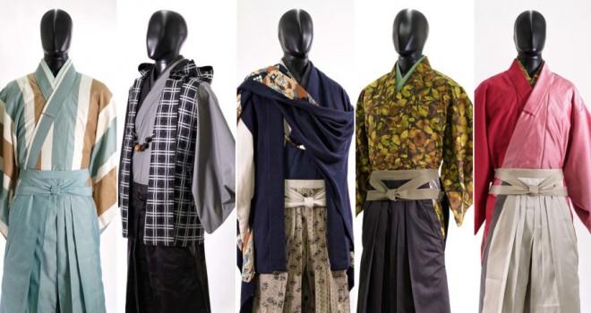 現代版サムライスタイル!男着物ブランド「和次元 滴や」が2017春コレクションを発表