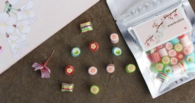彩りステキすぎる〜!大人気キャンディのパパブブレから春限定「桜ミックス」が誕生