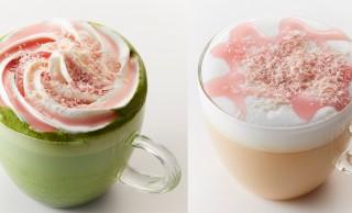 ふわぁ可愛らし〜っ!タリーズコーヒーが桜テーマのインスタ映えする限定メニュー発売