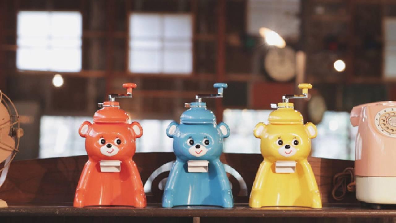 復刻されてる〜っ!レトロかわいい昭和な氷削り機「きょろちゃん」