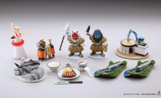なまはげ、牛タン、芋煮会…東北地方の文化のミニフィギュア「みちのくフィギュアみやげ」第2弾登場