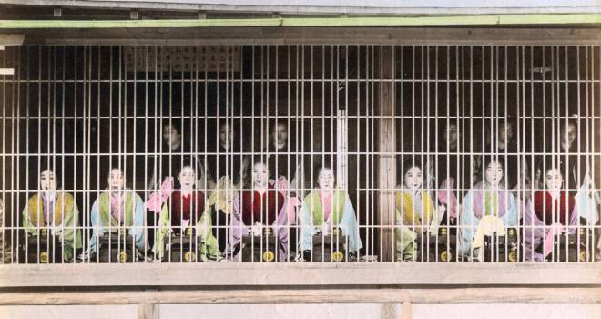 江戸時代、非合法の売春街「岡場所」の遊女は子供だった?