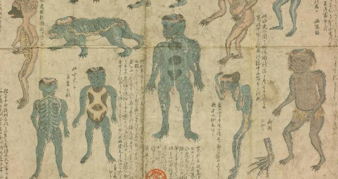 江戸時代はとても身近な存在だった「妖怪」。水辺にはどんな妖怪がいたのでしょう?