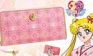 月野うさぎをイメージ!京都・西陣織とセーラームーンがコラボした長財布が誕生