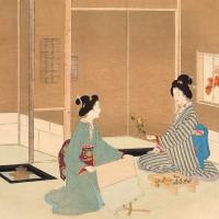 お歯黒塗っていざ家事を!水汲み、炊事、お裁縫…江戸時代も主婦の仕事は多し
