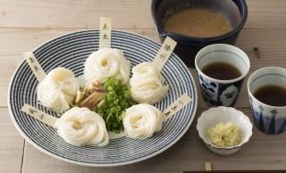 """""""きき素麺"""" という発想!全国5産地のそうめんを味くらべできる「そうめんくらべ」発売"""