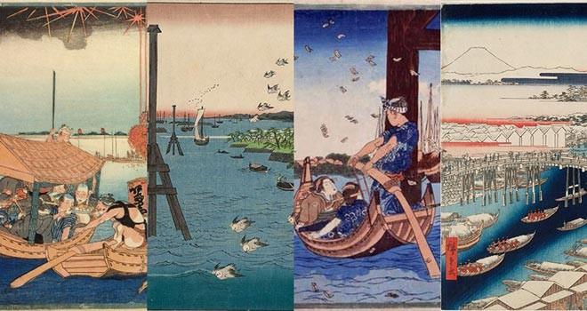 夏にぴったり!人気絵師の浮世絵でお江戸の水辺をめぐる展覧会「大江戸クルージング」開催