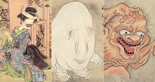 お歯黒べったり、ぬっぺほふ、うわん…人を驚かせるのが大好きな妖怪たち