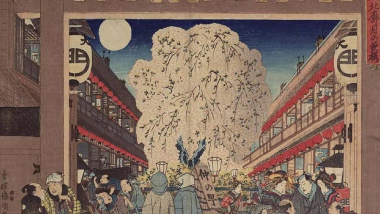 江戸時代、吉原遊郭までの交通アクセスは徒歩?駕籠?舟?何がベストだったの?