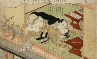 小っさなおっさんが情事を覗くw 春画もスゴかった錦絵の先駆者・鈴木春信