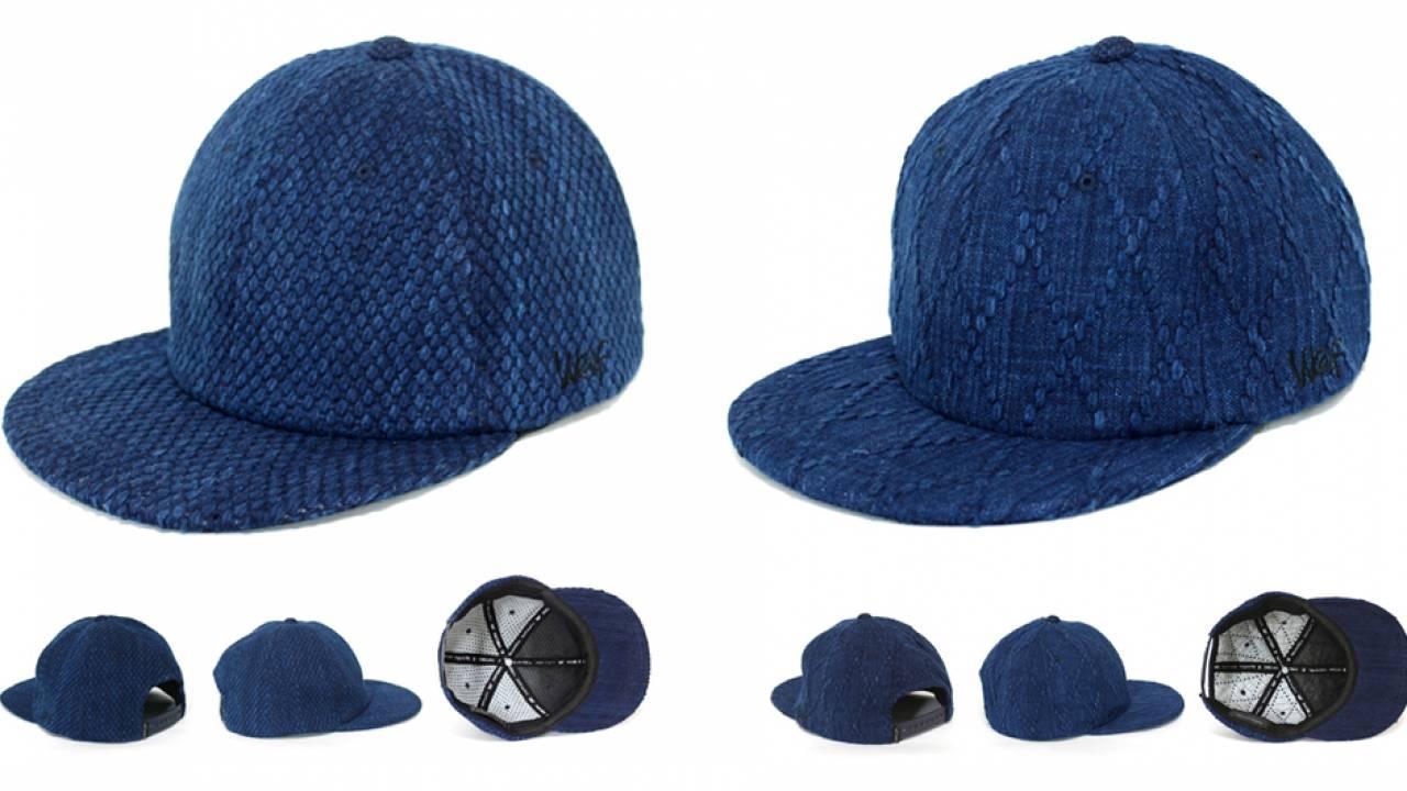 武州正藍染の剣道着の生地を使用したキャップ「KENDO CAP」登場!