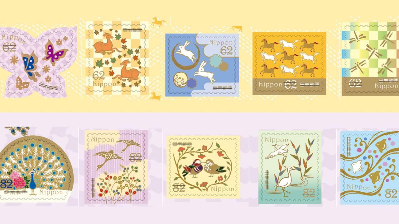 今回も素敵デザイン♪切手「和の文様シリーズ」第3弾は日本に馴染みある動物がテーマ