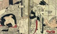 江戸時代、ムフフ♪の艶本にもめくる楽しさ味わえる仕掛本があった。人気絵師たちの「仕掛春本」