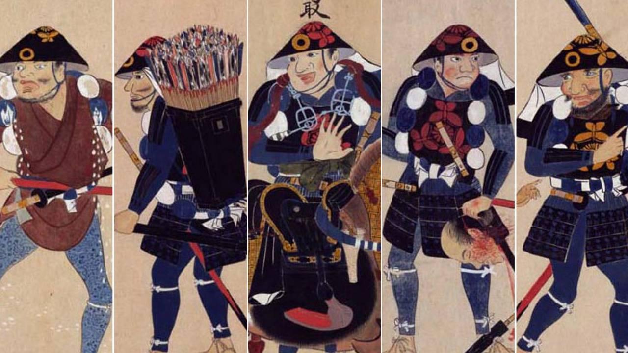 雑兵たちの体験談♪江戸時代の雑兵30人の体験や失敗談を記した「雑兵物語」がオモシロ