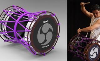 これが世界初の電子和太鼓だ!ローランドと鼓童による共同開発「電子担ぎ太鼓」誕生