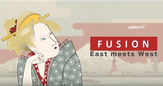 洋楽の名曲を和楽器で大胆アレンジしたコンピアルバム「FUSION ~East meets West~」