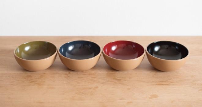 暮らしの中に漆器を。丸っこいフォルムが可愛い、日本の四季に合わせた漆器「MARUWAN」