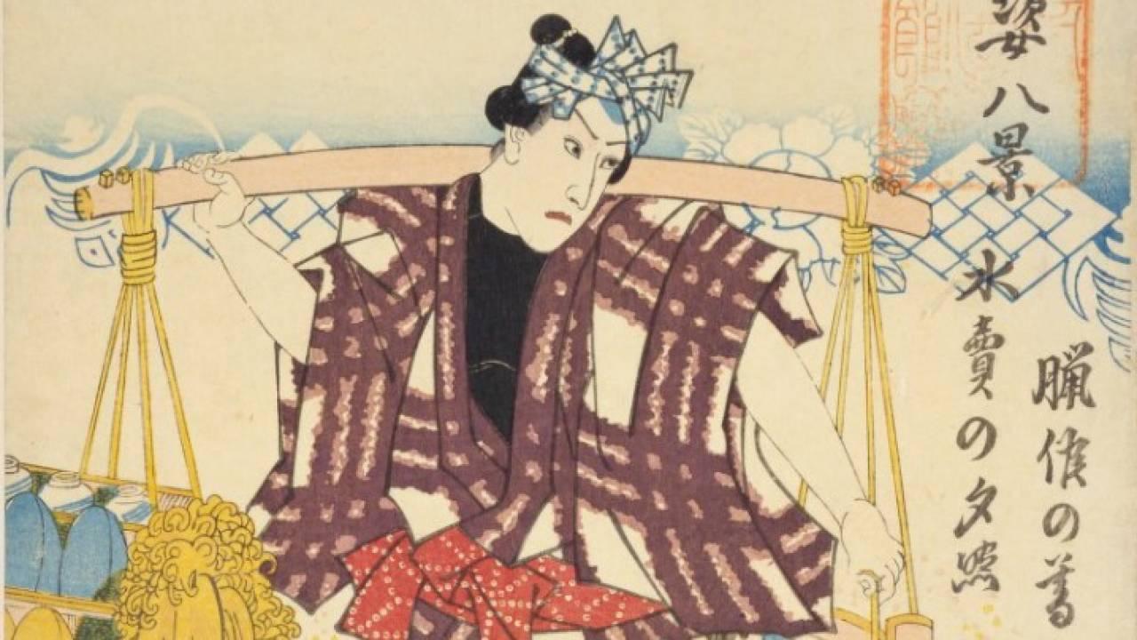 水を売る?夏限定、江戸時代のおもしろ商売「冷や水売り」を詳しく解説