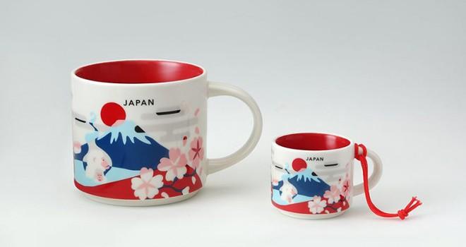 スターバックスから日本のシンボリックデザインなマグカップ「You Are Here Collection マグ JAPAN」発売