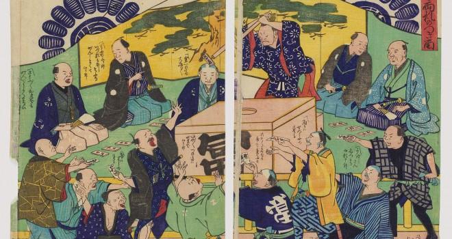 江戸時代は富札や賭博もあれば町金融もあった。高利貸「烏金」に借りたらさぁ大変!