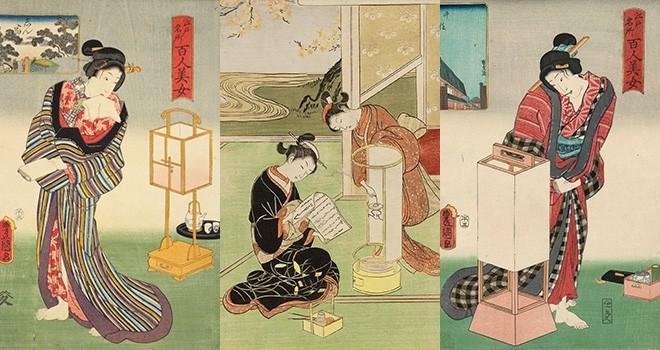 江戸時代と灯り…あんどんが「行灯」という漢字になったのはなぜ?